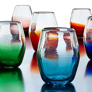 Multicolor-Ombre-Stemless-Wine-Glass-Set-uncommongoods.com