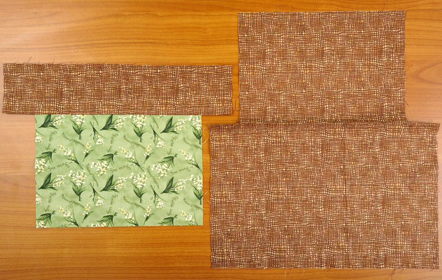 How to make zippered bag. Daily Quilt Bag Pattern - Japanese Craft, Easy Quilting Tutorial.