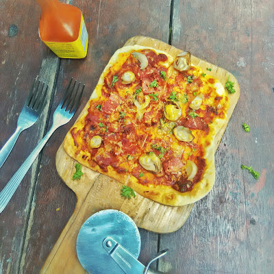 bar pizza, homemade thin crust pizza, tortilla wrap, how to make tortilla wrap
