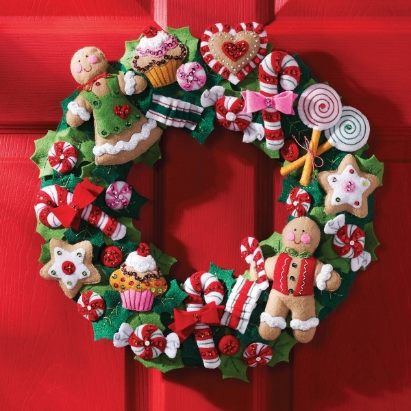 How To Make A Christmas Wreath With Styrofoam Ring