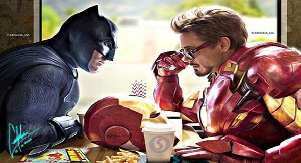 10 Kelakuan Konyol Para Superhero Saat Sedang Nyantai Hihi