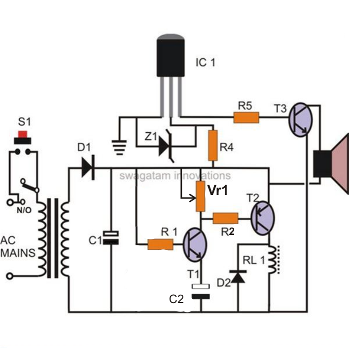 simple relay circuit project