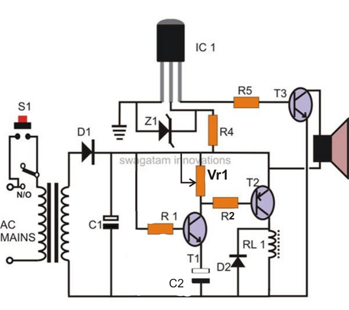 Build Door Bell Timer With Adjustable Timing Facility