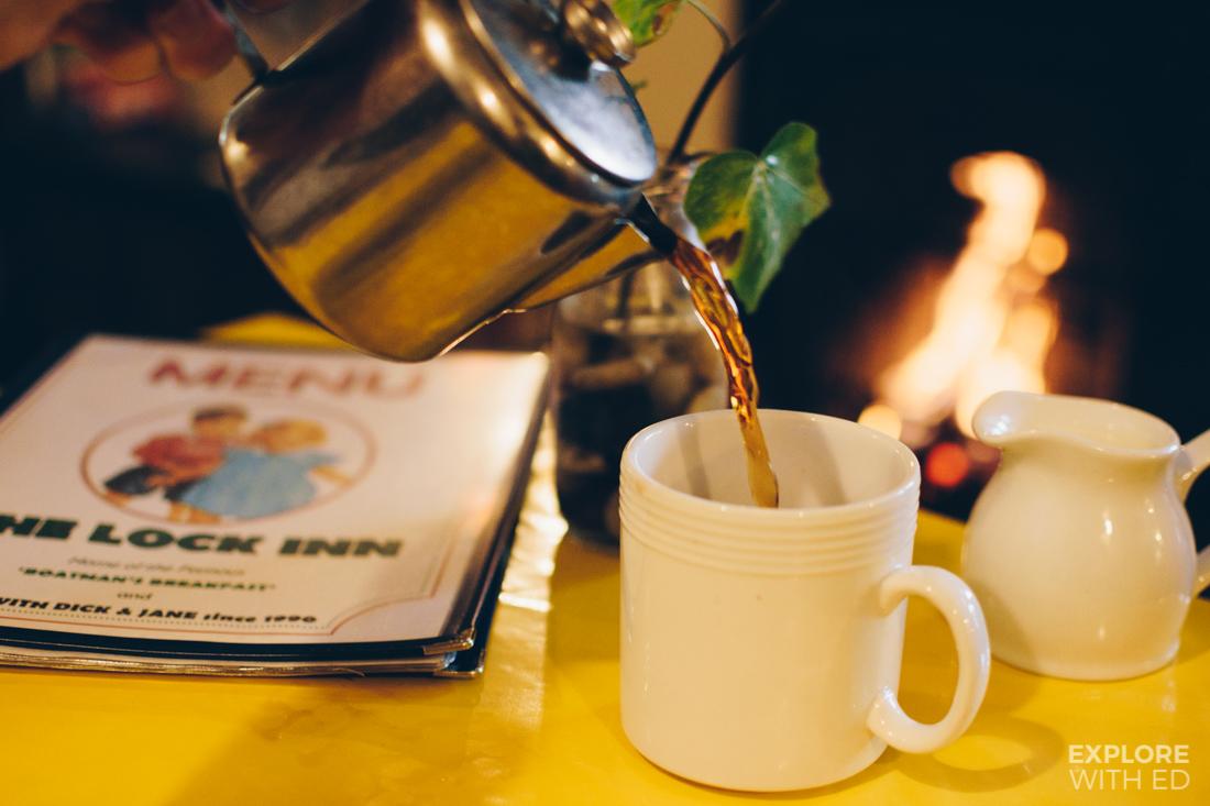 Tea in Bradford-on-Avon