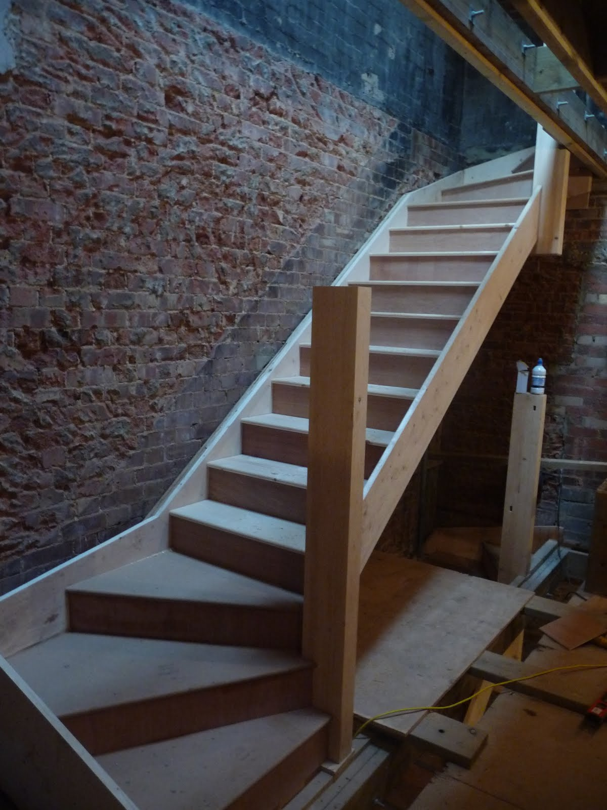 WoodenBother: Stair work