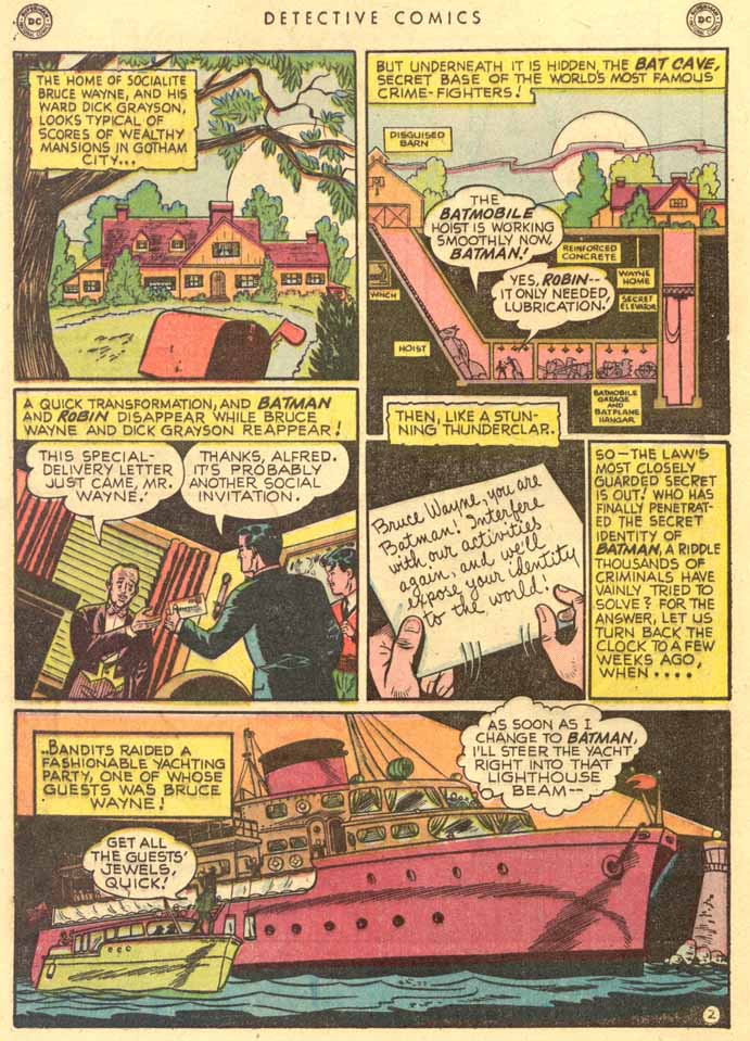 Detective Comics (1937) 159 Page 3