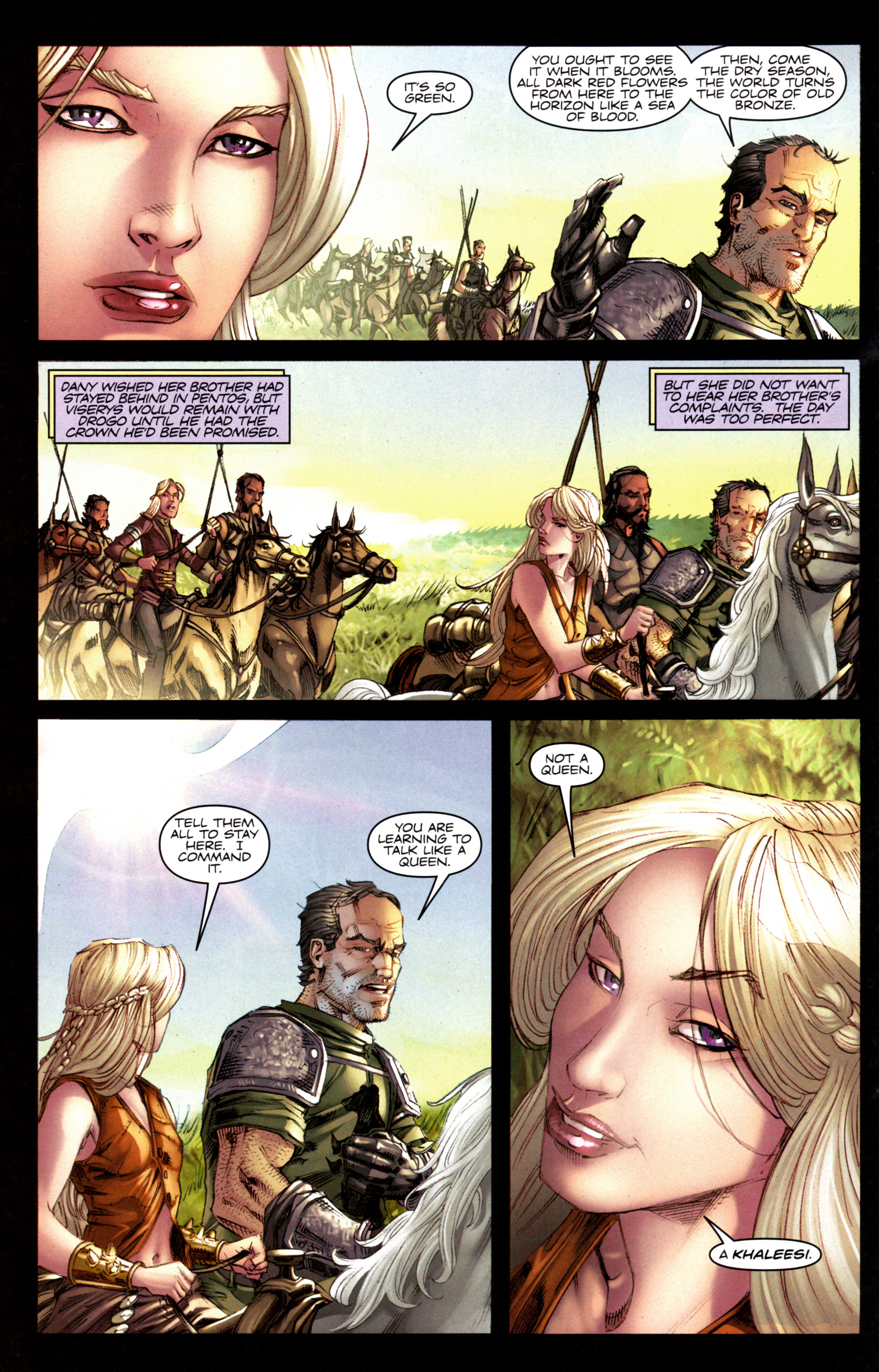 Read online A Game Of Thrones comic -  Issue #6 - 22