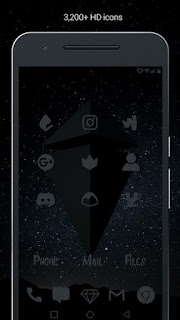 Murdered Out Pro Dark Icons v3.0.3 Paid APK