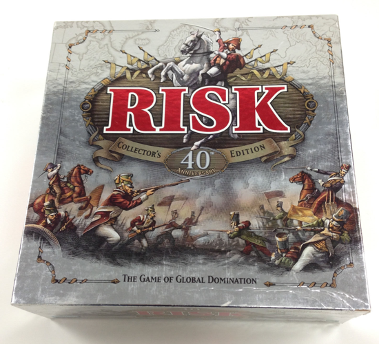 Risk 40th Anniversary Collector's Edition box