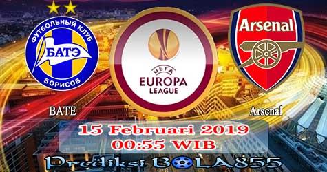 Prediksi Bola855 BATE vs Arsenal 15 Februari 2019