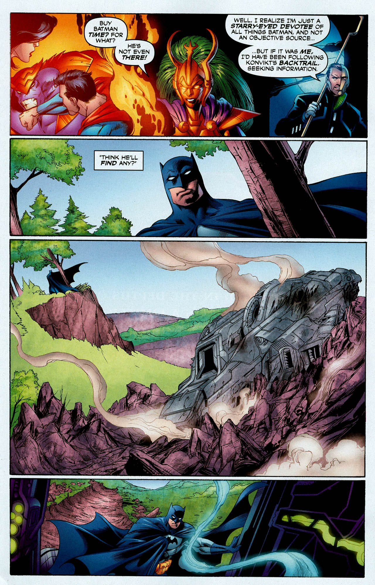 Read online Trinity (2008) comic -  Issue #4 - 17