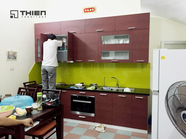 Thiên Furniture - Làm tủ bếp tại Hải Phòng