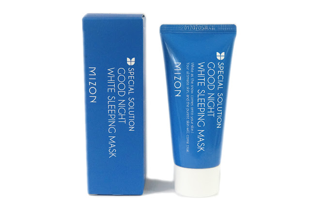 Mizon Special Solution Good Night White Sleeping Mask
