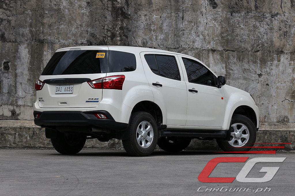Review: 2019 Isuzu mu-X RZ4E LS A/T | CarGuide.PH ...