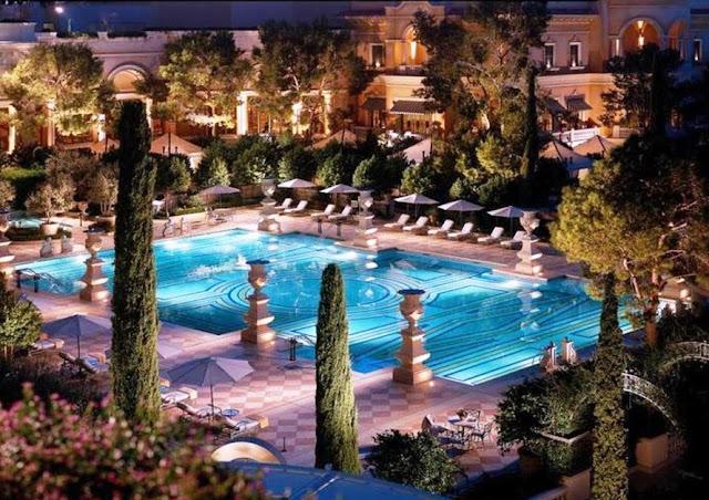 Hotel Bellagio Piscina Las Vegas