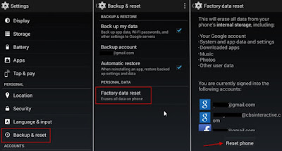 حذف جميع ملفات و بيانات هاتفك الأندرويد مع ضمان عدم استرجاعها