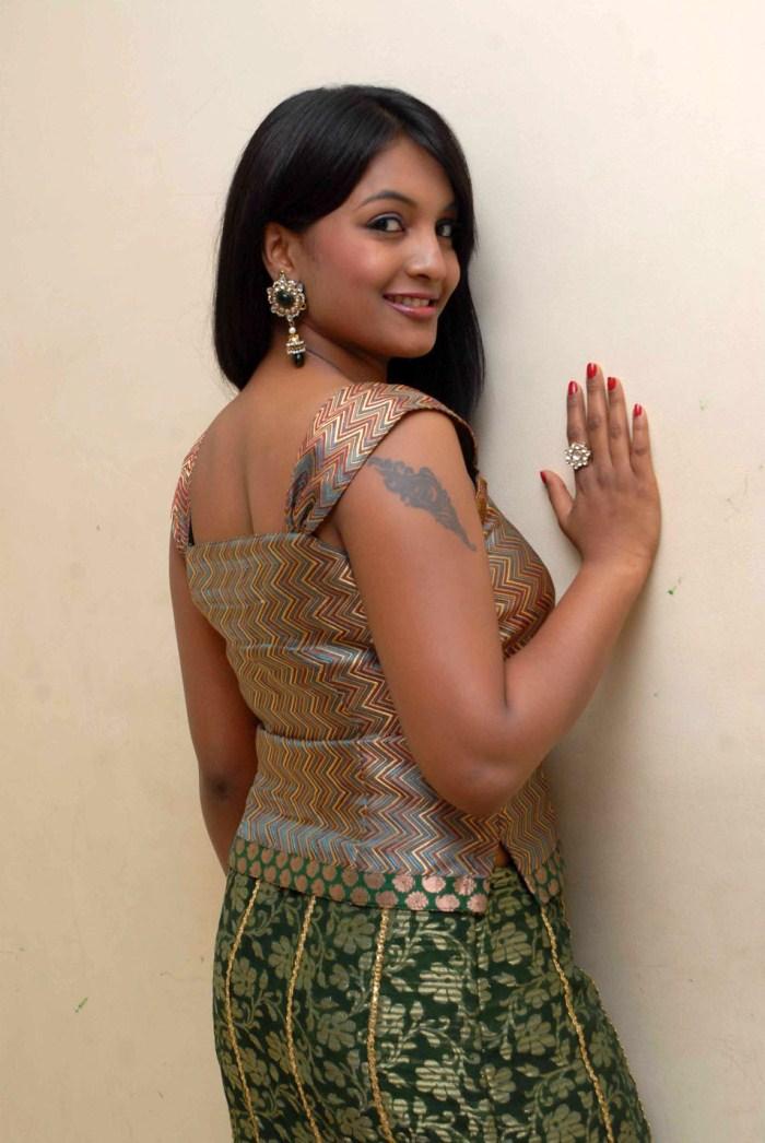Sexclusive Stills: Nayana Beautiful in Green Midi