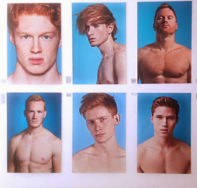 Red hot 100 Berlin Ausstellung Bikini Thomas Knights ginger naked