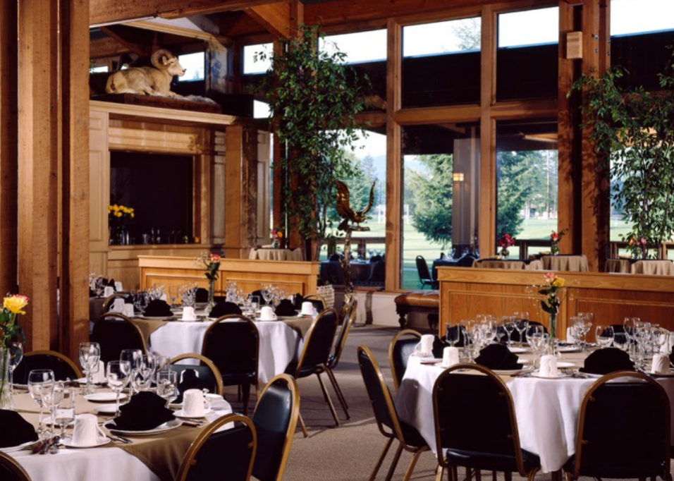 Grouse Mountain Lodge Whitefish MT Wedding Venues