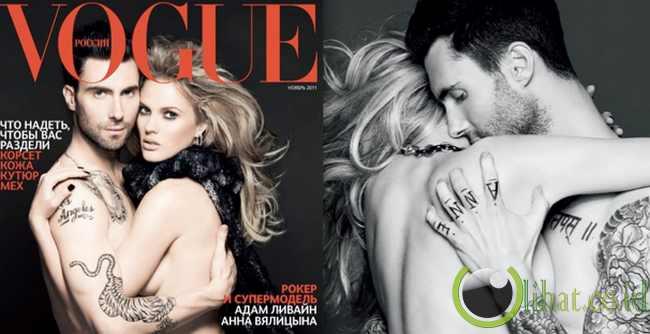 Adam Levine dan Anne V