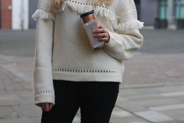 tassel jumper uk fashion blog