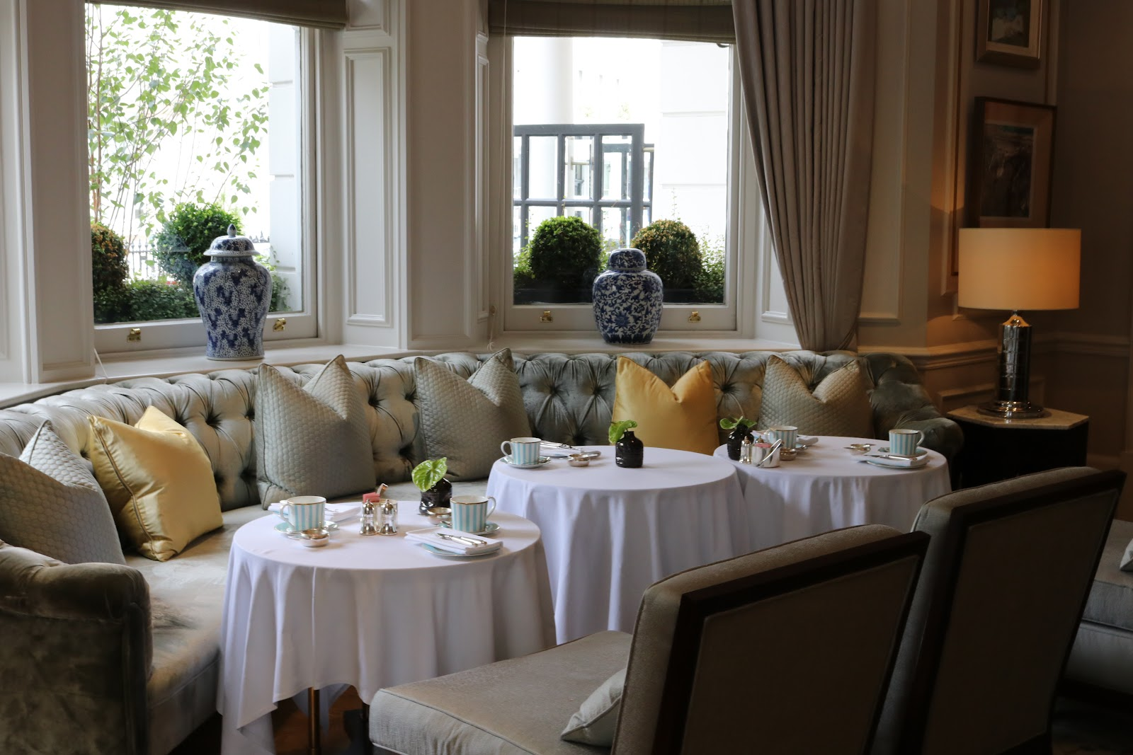 The Drawing Room at Champagne at Afternoon Tea, The Town House, The Kensington Hotel, Kensington, Chelsea, London
