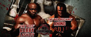 TNA No Surrender 2009 PPV Review - Bobby Lashley vs. Rhino