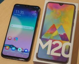 Cara Root Samsung Galaxy M20