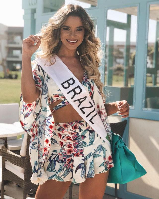 Amanda Cardoso é uma das candidatas favoritas ao título de Miss Intercontinental 2017. Foto: Acervo Pessoal