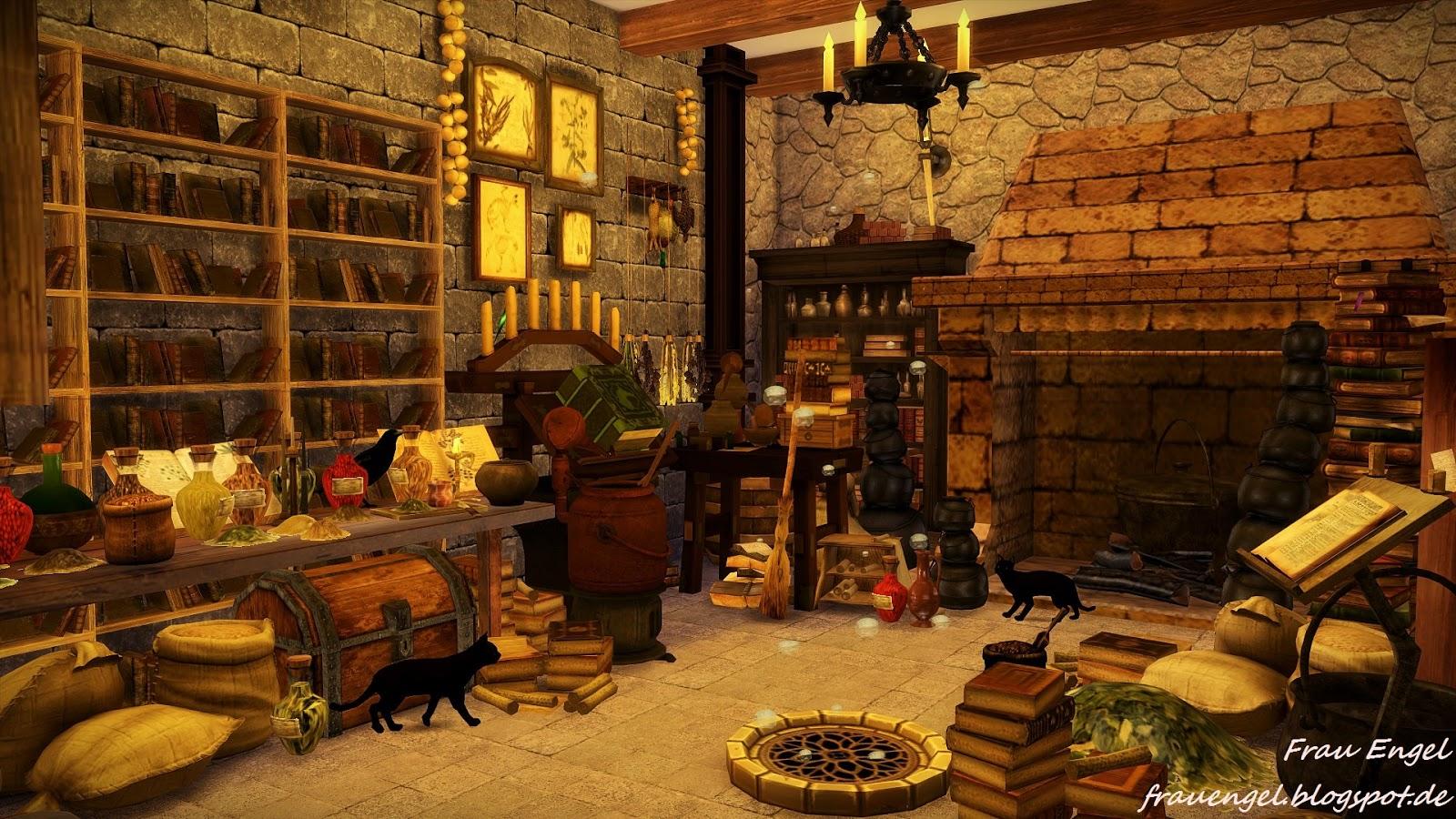 Room Creator Frau Engel Ts4 Witch House