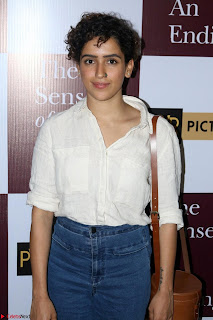 Nimrat Kaur and Naseeruddin Shah at Special Screening Of movie The Sense Of An Ending 10.JPG