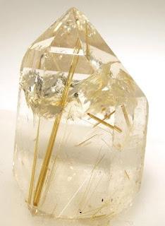 quartzo rutilado de Ibitiara, Bahia
