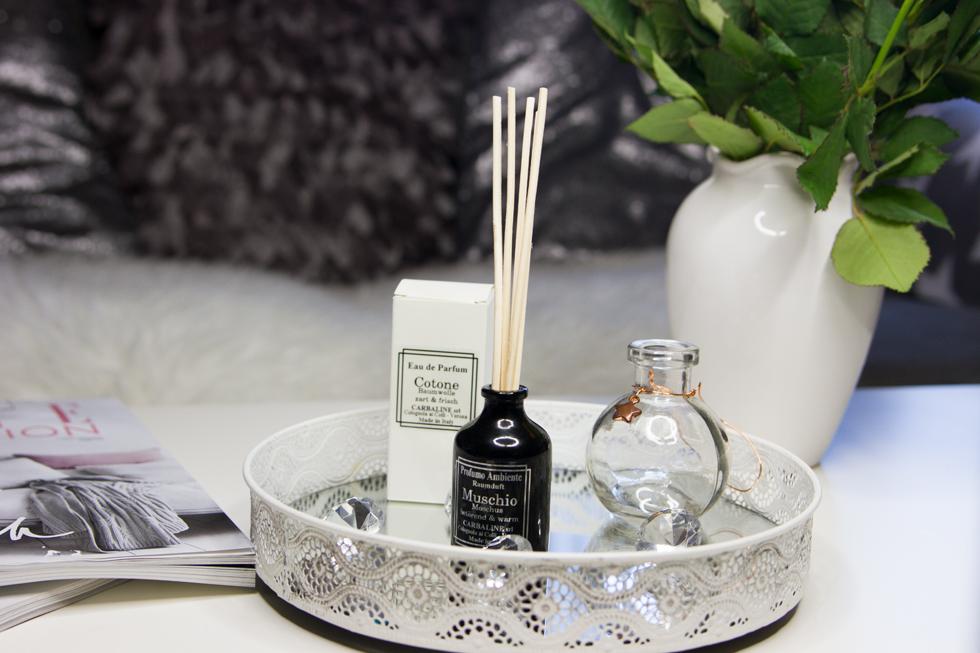 Carbaline Cotone Eau de Parfum und Muschio Profumo Ambiente