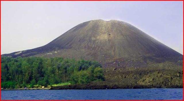 Foto Gunung Krakatau