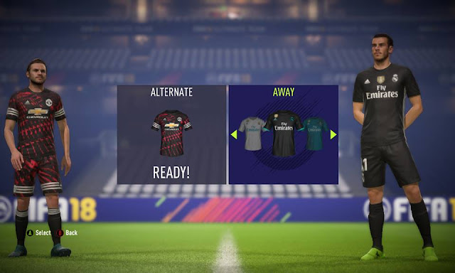 the best attitude 32f04 3bf19 The 4th Manchester united kit 17/18 - FIFA 18 at ModdingWay