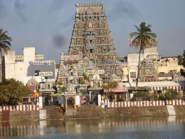 hd images of Kapaleeswarar temple tamilnadu