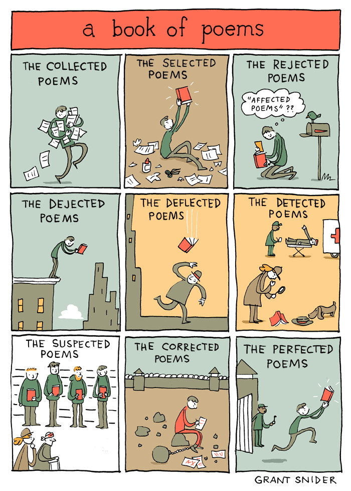 A Book of Poems from Grant Snider