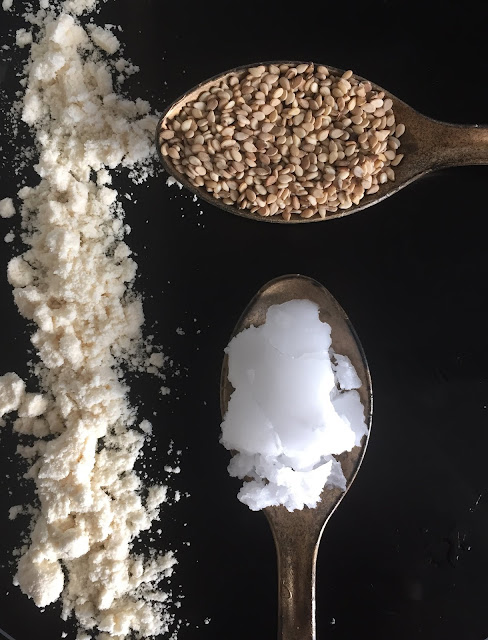 Kokos-Schnitten, Rezept glutenfrei & vegan, Minimalismus: Zubereitung einfach + schnell, Healthy Food Style, Tropicai
