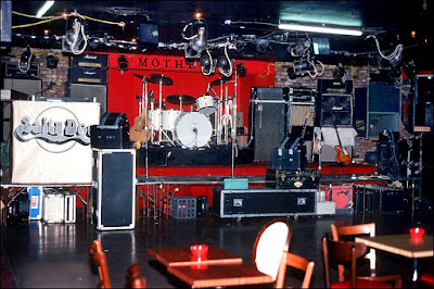 Mother's rock club Wayne, New Jersey before Salty Dog took the stage