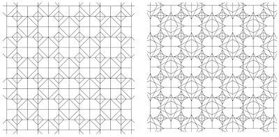 mathrecreation: envelope doodle design family