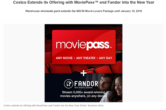 MoviePass - Fulfilling those 2018 resolutions!