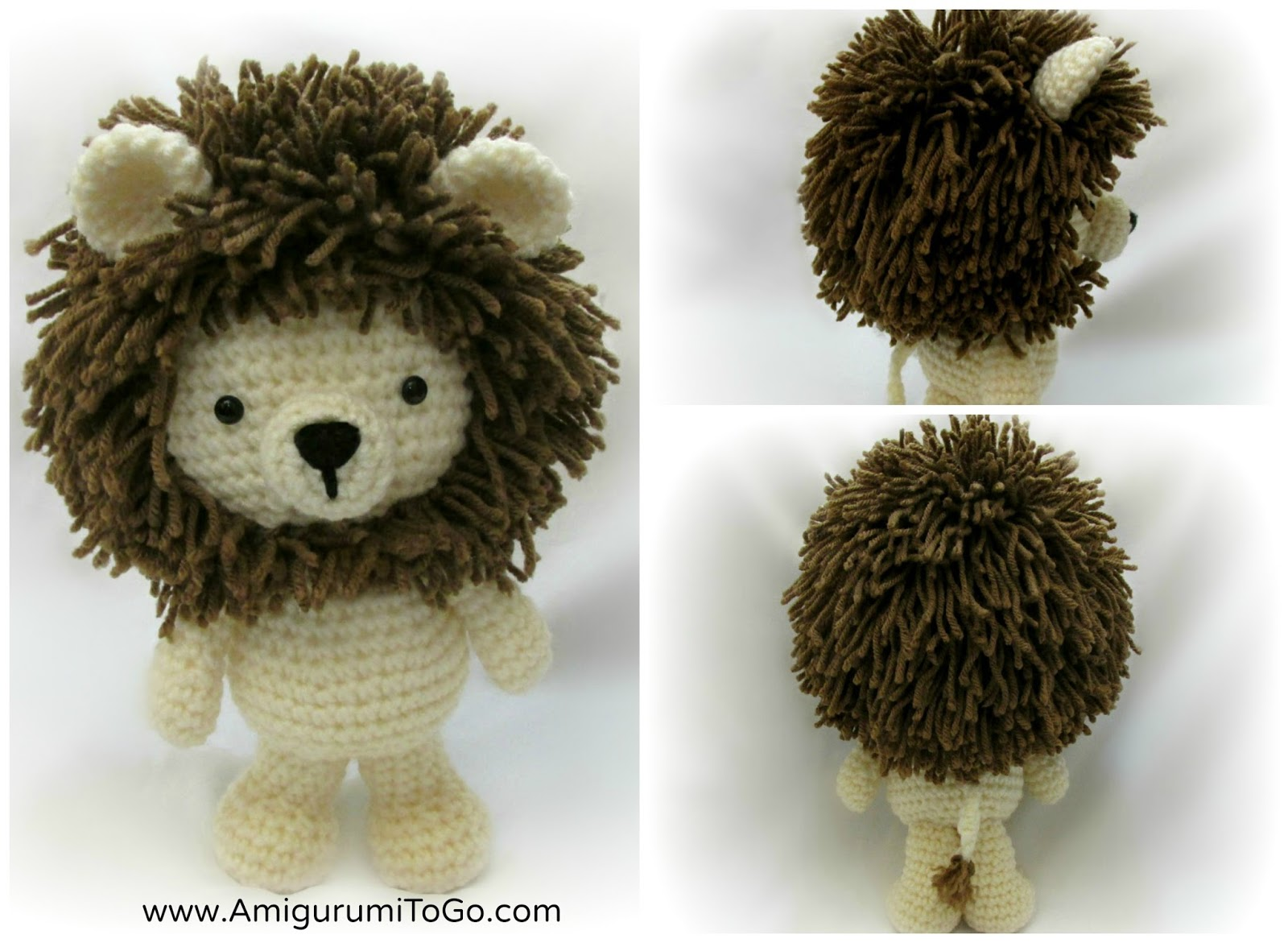 Little bigfoot lion 2014 amigurumi to go dt1010fo