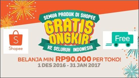 Cara Belanja di Shopee ID Free Ongkir