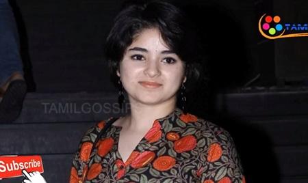 Zaira Wasim: Indian man held after star 'molested' on flight