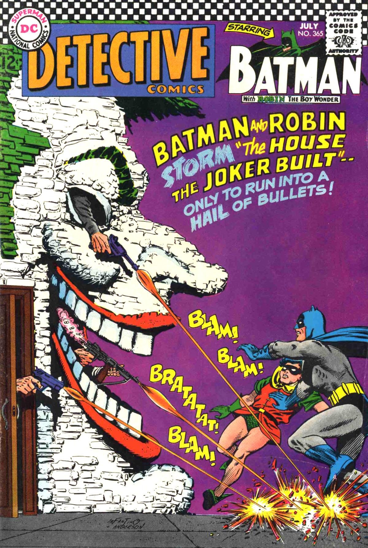 Detective Comics (1937) 365 Page 1