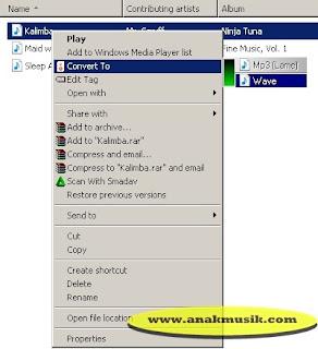 Cara Mengubah MP3 Menjadi WAV