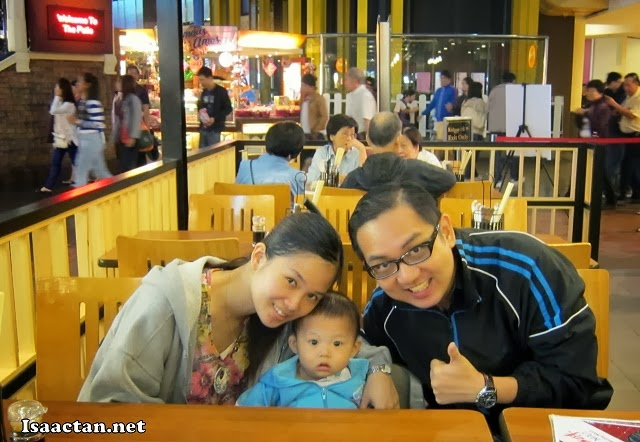 One for the album, us at Genting Highlands