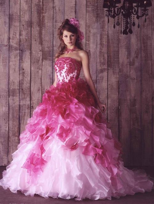20 Gaun Pengantin Warna Pink Agar Cantik Dan Menawan Gaun Jogja