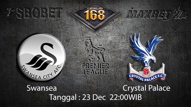 PREDIKSIBOLA - PREDIKSI TARUHAN BOLA SWANSEA VS CRYSTAL PALACE 23 DESEMBER 2017 ( ENGLISH PREMIER LEAGUE )