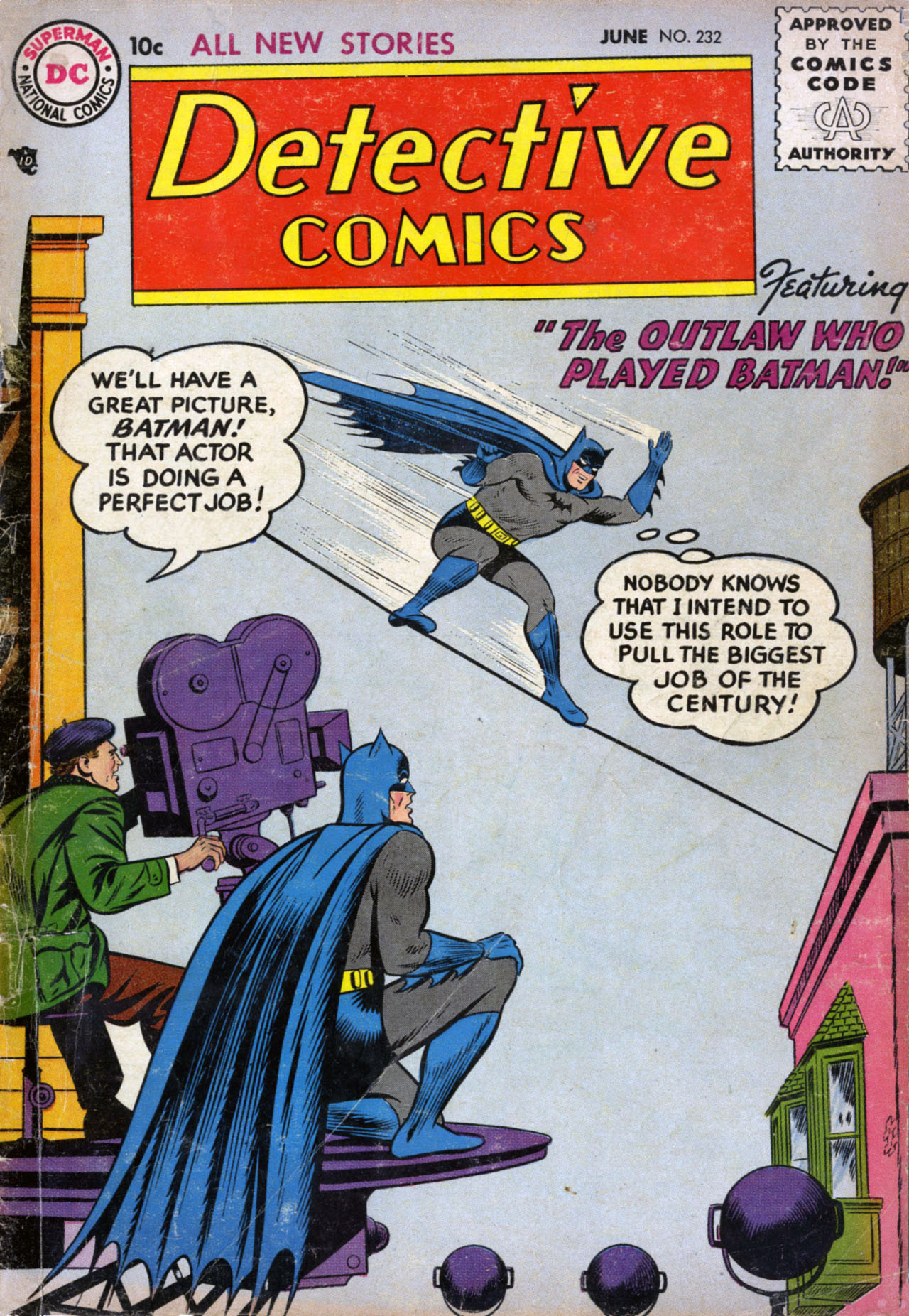 Detective Comics (1937) 232 Page 1